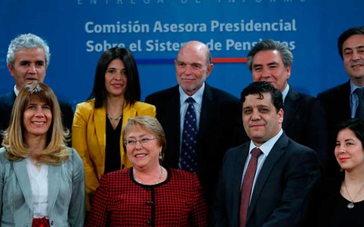 """Comisión Bravo: """"Informe Presidencial sobre sistema de pensiones"""""""